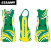 Fashion Design Cutomized Polyester Spandex Dri Fit Netball Dress (N010)