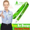 Promotional Gift Custom Polyester Eco-Friendly Lanyard with Metal Hook