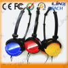New Design Fashion Portable Pocket Headphone for Girls Computer Accessories