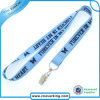 Flocking Lanyard Holder for Meeting with Printing