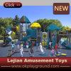 Ce School Rank Outdoor Plastic Playground (X1503-4)