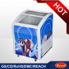 Supermarket Glass Door Ice Cream Chest Freezer