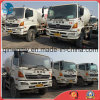 Available-Solid-Tires White-Free-Repaint 6*4-LHD-Drive Used 10~20ton/6~8cbm Japan-Make Hino500 Concrete Mixer Truck