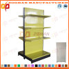 4 Level Customized Supermarket Perforated Retail Display Shelves (Zhs528)