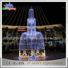 European Style IP68 Commercial Fountain Christmas Lights