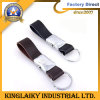 Lacer/Emboss Logo Leather with Metal Key Chain for Gift (NPVC-1008)