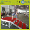 Aluminum Performance Lighting Exhibition 1.22mx1.22m Plywood Stage with Stage Stair