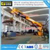 Stationary Harbor Crane Small Size Hydraulic Fixed Boom Deck Provision Crane