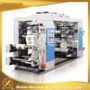 4 Colors Plastic Film Flexo Printing Machinery