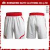 Men′s Comfortable Professional Soccer Shorts White (ELTSSI-20)
