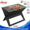 Multi-Function Cast Iron Portable Folding Indoor Charcoal BBQ Grill
