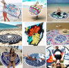 Custom Cute Beach Towel 150cm Big Round Beach Towels
