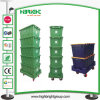 Durable Plastic Moving Crate with Dolly