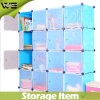 Modern Bedroom Plastic Wardrobe Cabinets Armoire for Clothes