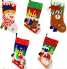 OEM Christmas Stocking Hang Decoration and Craft for Promotional Gift