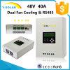 MPPT 40AMP 48V/36V24V12V Dual Fan-Cooling Solar Charge Controller Scf-40A
