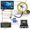 Waterproof Pipe Pipeline Drain Inspection System with Keyboards and Length Counter
