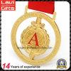 2017 Gold Plating Metal Medal with 3D Design