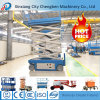 10m Lifting Height Hydraulic Adjustable Scissor Lift Table with Anti-Skid Slab