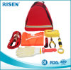 Car First Aid Kit with Triangle Roadside Car Repair First Aid Kit for Travel Sports Outdoor