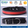 Simple Design Wholesale Soft Padded Leather Dog Collar, Bling Beaded Dog Collar