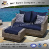 Well Furnir Wf-17132 Loveseat and Ottoman with Cushions