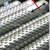 Galvanized Low Carbon Steel Anti-Corrosion Deep Water Well Drilling Bridge Slot Screen Filter