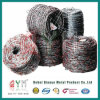 Galvanized Safety Barbed Wire / Decorative Barbed Wire Fencing