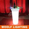 Rotating Plastic Decorative LED Glow Ice Bucket