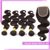 Malaysian Virgin Hair 3 Lot with Lace Closure