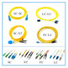 Indoor Tight Buffer Double Cores Optical Fiber Patch Cord (GJFJBV)