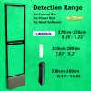 Acrylic Anti Theft Mono Security Antenna for Retail Store
