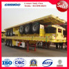 Flatbed Truck Trailer / Container Semi Trailer with 3 Axle