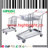 Medium Duty Foldable Supermarket Warehouse Hand Trolley