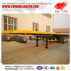 2017 New Style 3 Axles Container Flatbed Utility Semi Trailer for Sale
