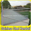 Outdoor Stainless Steel Handrail Clear Glass Balustrade