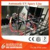 Metalising Chamber UV Automatic Plastic Painting Line Vacuum Coating Machine, PVD Coating Machine