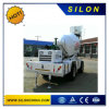 Hydraulic Self-Loading Concrete Mixer Truck with Hopper 4.0m3