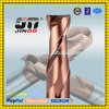 Solid Carbide Corner Chamfer 4 Flute Square End Mills, Carbide, Stub Length, Single End, General Purpose, 30 Degree Helix