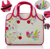 China Factory Embroidery Neoprene Women Laptop Seelve Bags Note Book Bag 11′′ 13′′inch