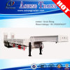 3 Axle Platform Side Wall Open Tailgate Lowbed Semi Trailer