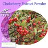 100% Natural Chokeberry Extract Powder (Anthocyanin 5%, 10%, 15%, 20%, 25%)