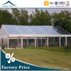 12m*35m Luxury Party Reception Aluminum Frame Transparent Tents