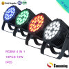 IP65 Outdoor 18*10W RGBW China LED PAR Cans