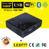 Home Theater 500 ANSI Lumens Portable WiFi DLP HD Projector