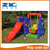 Elephant Plastic Slide and Swing Set Play