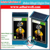 Mupi LED Light Box Advertising Display Green Solar Power Solution