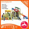 Commercial School Kids Outdoor Wooden Playground