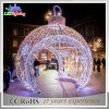 Square LED Artificial Outdoor Christmas Decoration Giant Ball Lights