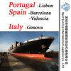 "Ocean Shipping Lisbon (Portugal) ; Barcelona, Valencia (Spain) ; Genova (Italy) -20""/40"""